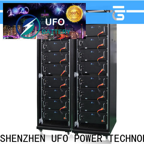UFO Custom lifepo4 battery pack suppliers for solar system telecommunication ups