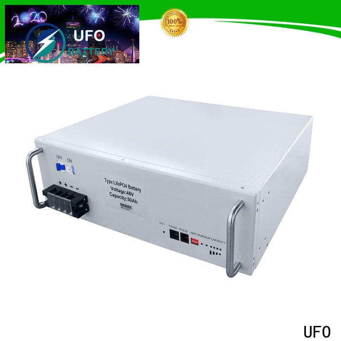 UFO New 48v lithium battery factory for sale