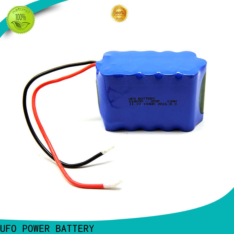 UFO Top rechargeable li ion battery pack manufacturers for small device