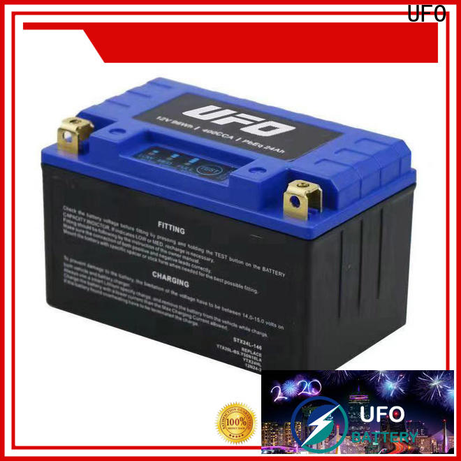 UFO Best lithium ion motorcycle battery supply