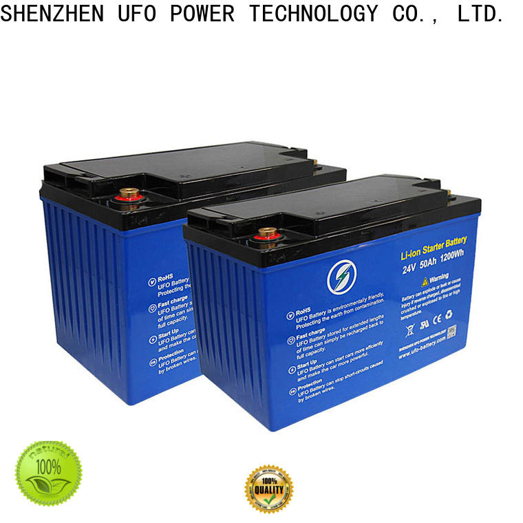 UFO Best lifepo4 lithium battery manufacturers for solar system Gel battery replacement