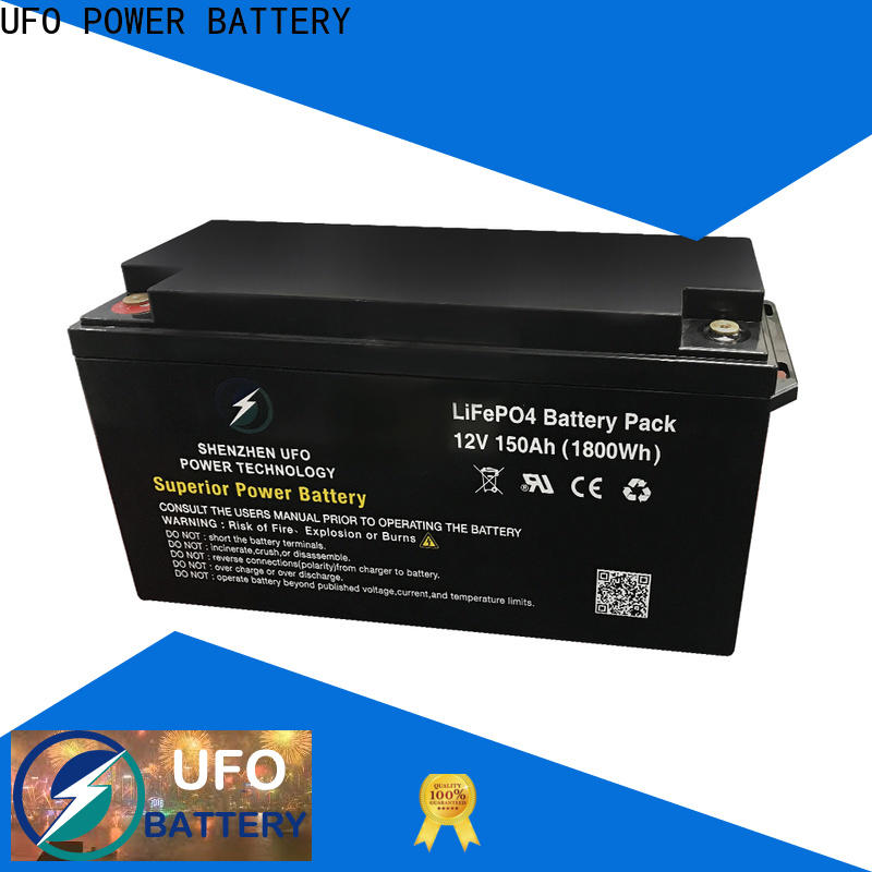 UFO Top 12 volt lithium battery supply for alarm