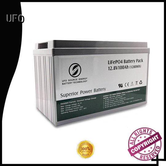 UFO good selling 12 volt lifepo4 battery with stable chemical properties for sale