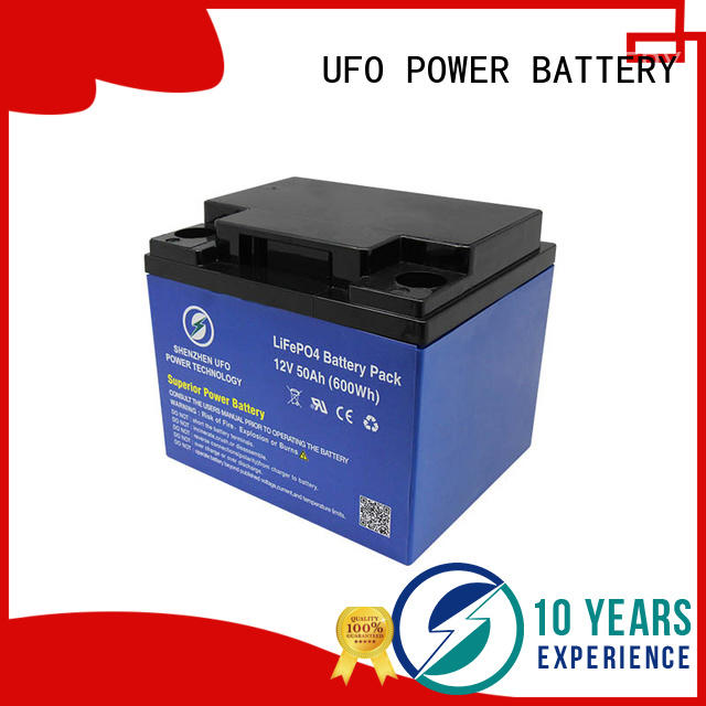 UFO cart lithium iron battery factory for alarm