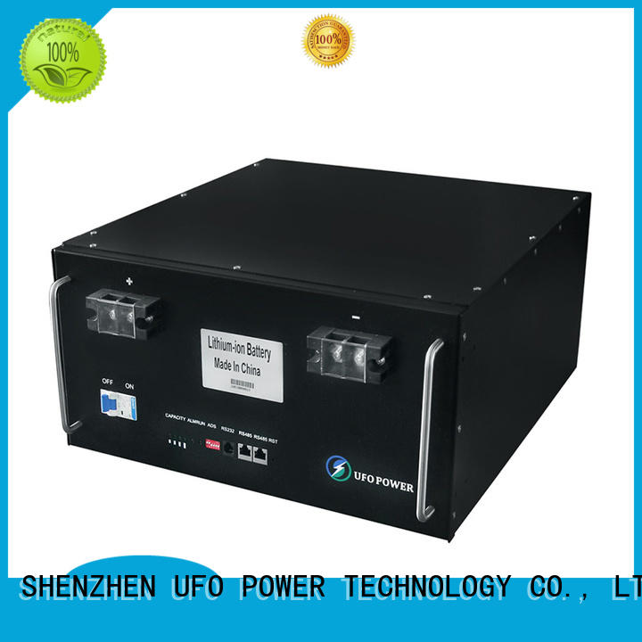 48v lithium ion battery pack with air switch for communication base station UFO