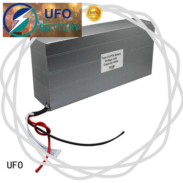 UFO device lithium ion rechargeable battery pack supply for solar street light