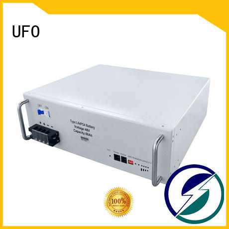 UFO Wholesale 48v lithium ion battery pack factory for solar system telecommunication ups