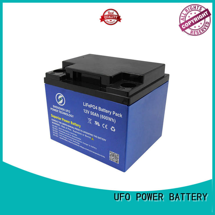 UFO High-quality lithium iron battery factory for alarm