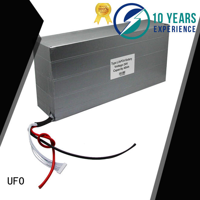 UFO Top rechargeable li ion battery pack supply for solar street light
