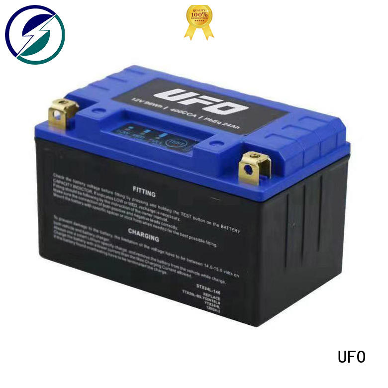 high quality 12v lifepo4 car starter battery with discharge voltage balance for electric cars UFO