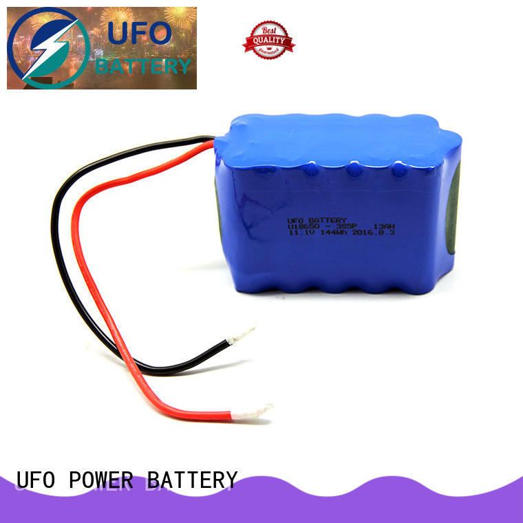 UFO small lithium ion rechargeable battery pack manufacturer for solar street light