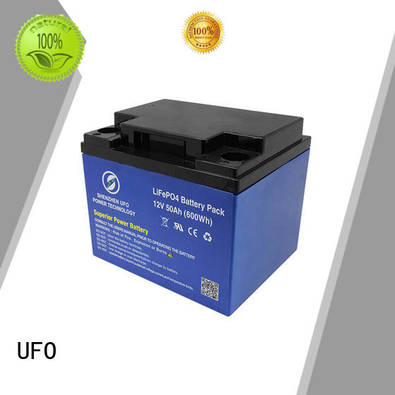 UFO lithium iron battery with stable chemical properties for alarm