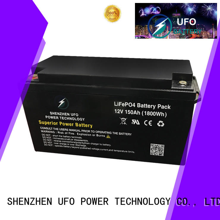UFO New 12v lithium iron battery for business for alarm