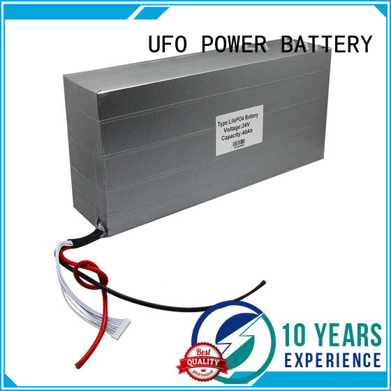 UFO efficient lithium ion rechargeable battery pack manufacturer for sale