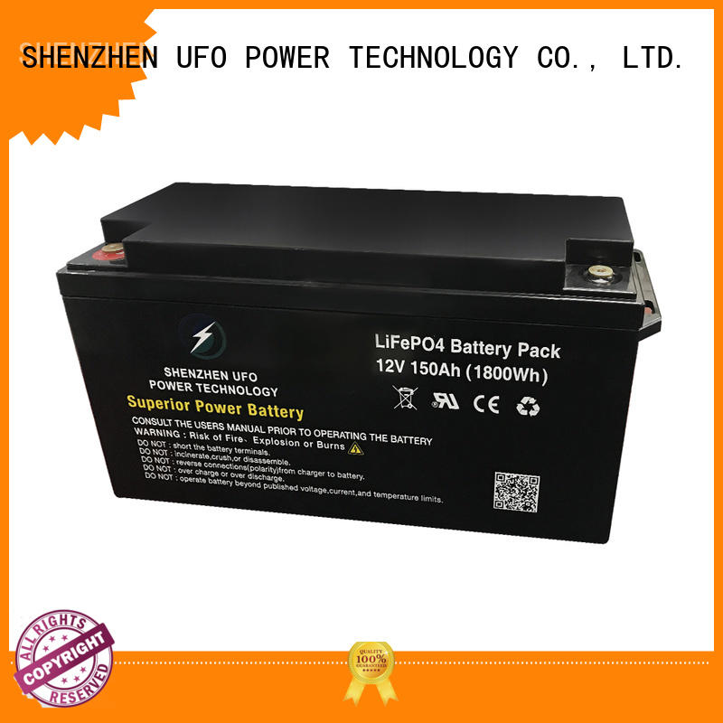 UFO system lifepo4 battery pack manufacturers for solar system Gel battery replacement