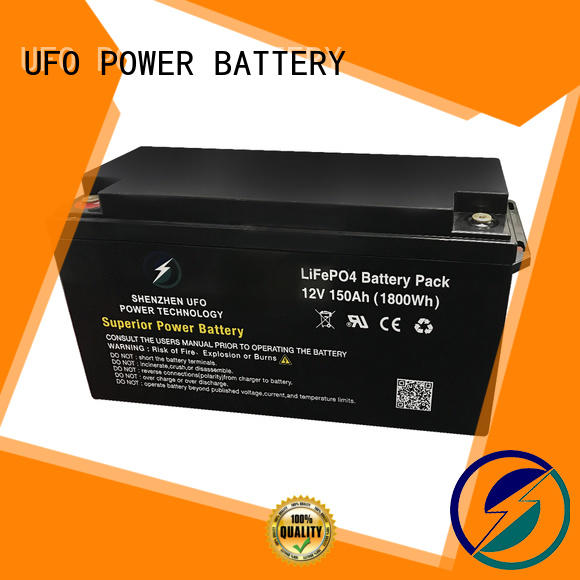 UFO professional 12v lithium iron battery manufacturer for alarm