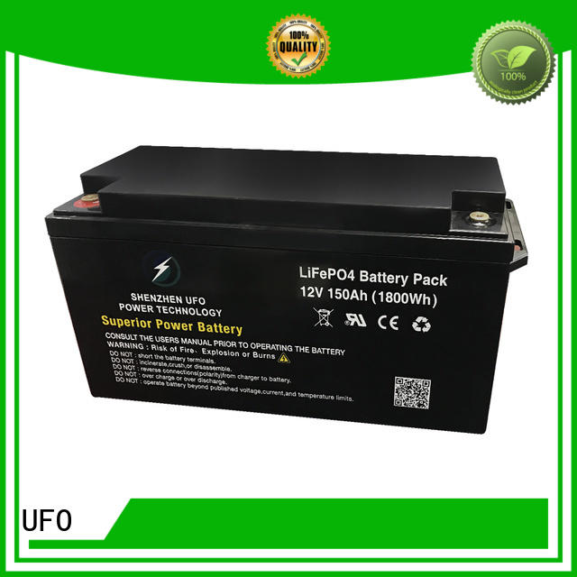 lifepo batterie lifepo4 12v manufacturer for solar system Gel battery replacement UFO