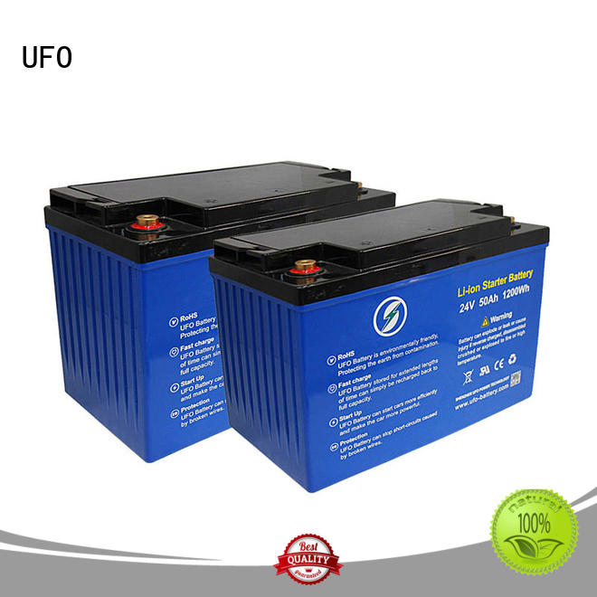 UFO solar lifepo4 lithium battery factory for alarm