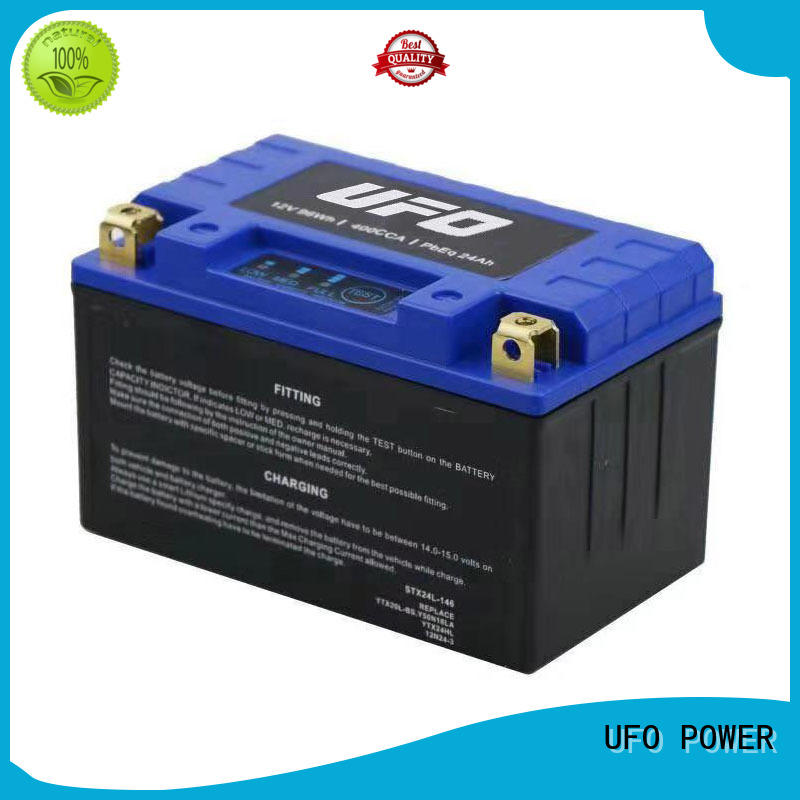 yb lithium auto battery with discharge voltage balance for sale UFO