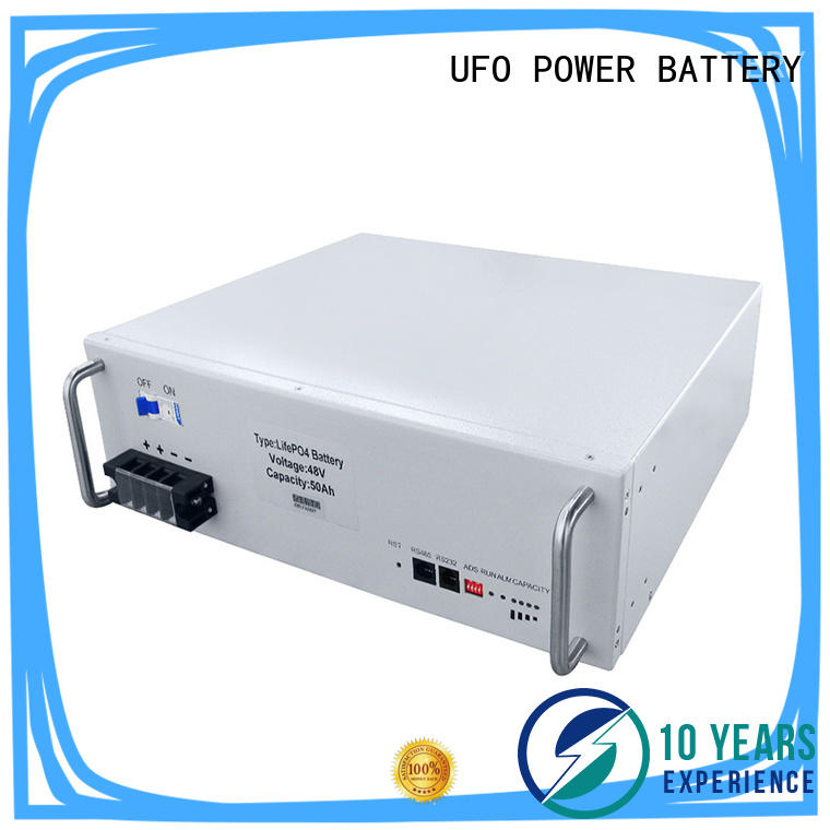 UFO Custom base station battery company for solar street lamp