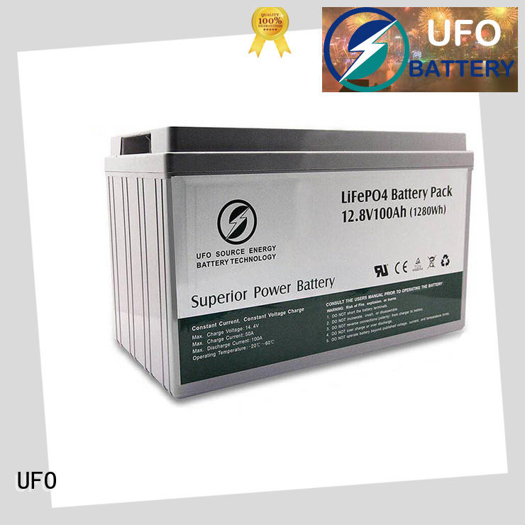UFO customize lithium iron battery with stable chemical properties for sale