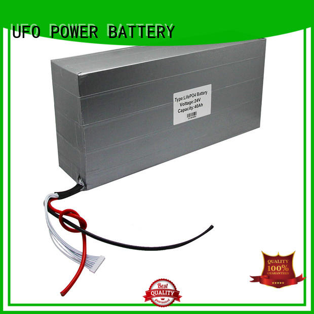 UFO best lithium ion rechargeable battery pack with flexible size for solar street light