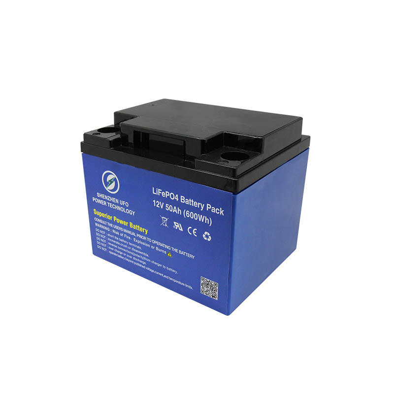 LiFePO4 lithium ion battery 12.8V50Ah for solar system Gel battery replacement-2