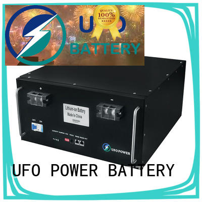 UFO Best 48v lithium ion battery manufacturers for solar street lamp