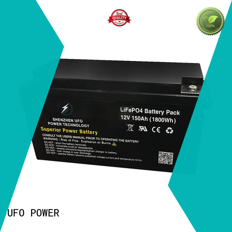 UFO reliable lithium iron battery lifepo for alarm
