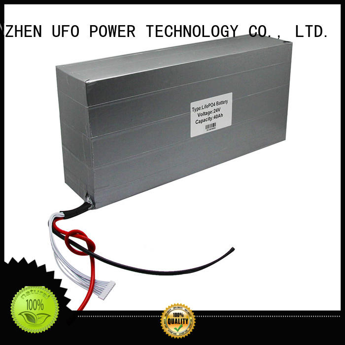 UFO professional rechargeable lithium battery pack with automation control technology for small device
