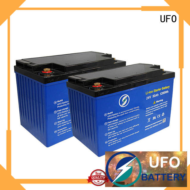 UFO lithium lifepo4 battery pack company for alarm