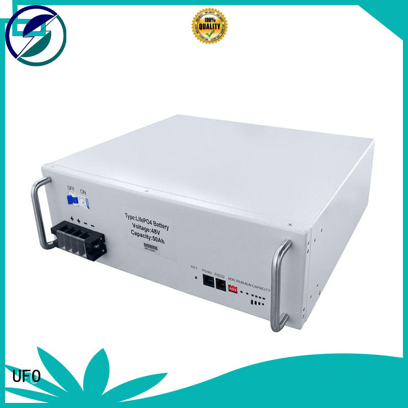 UFO 48v lithium ion battery pack with automation control technology for communication base station