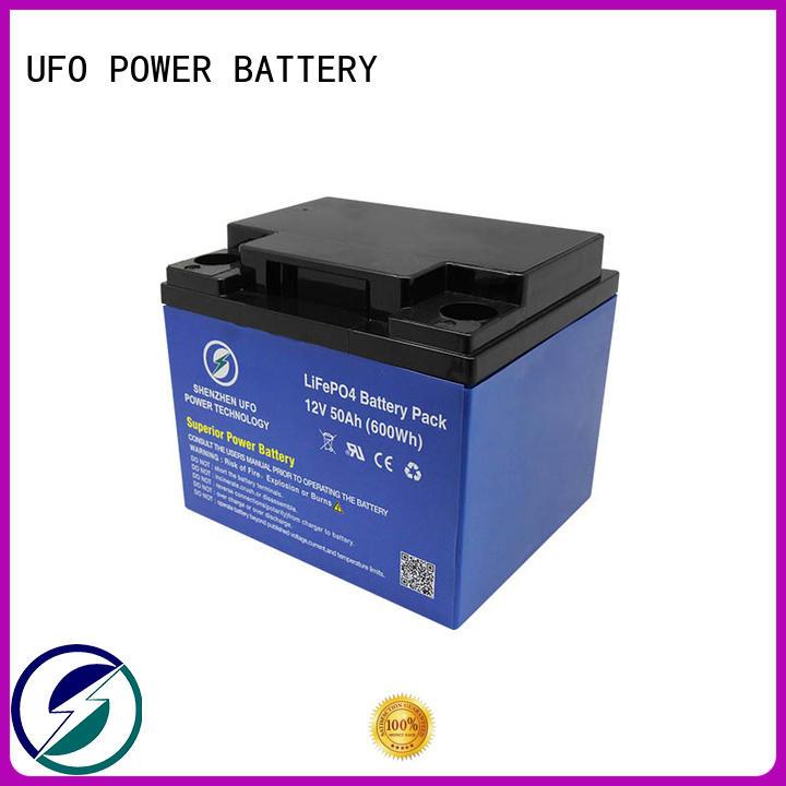 UFO Custom 12 volt lifepo4 battery suppliers for alarm
