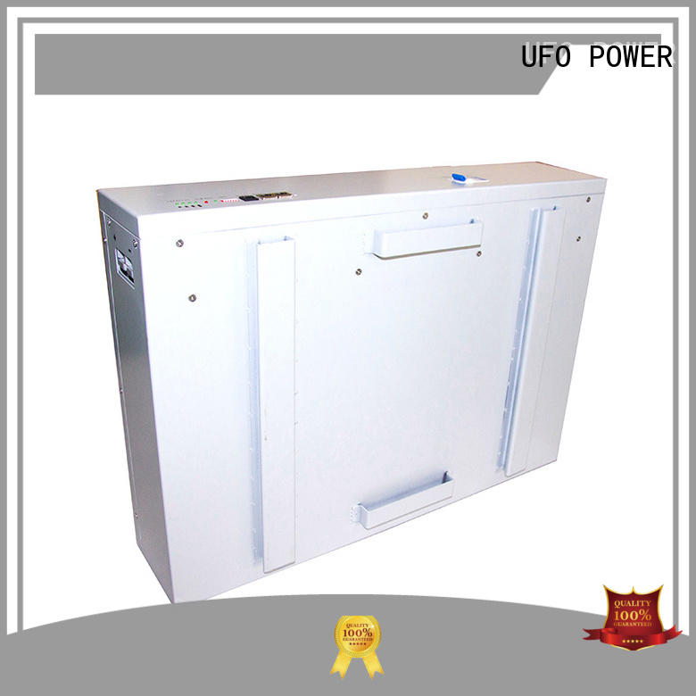 UFO high power density solar powerwall high quality for solar system telecommunication ups