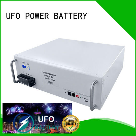 UFO Top station battery manufacturers for solar street lamp