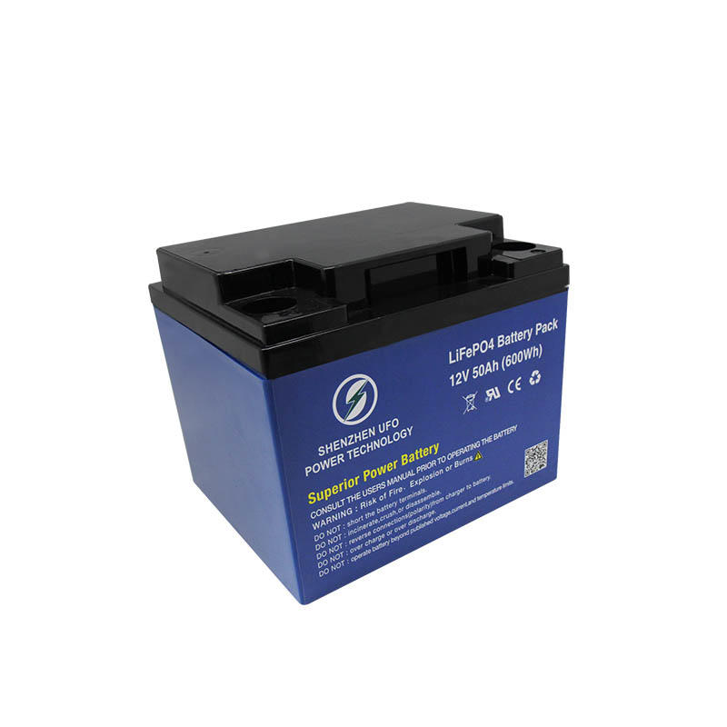 LiFePO4 lithium ion battery 12.8V50Ah for solar system Gel battery replacement-1