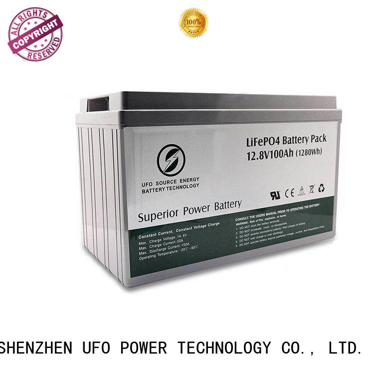 UFO gel lifepo4 battery pack company for alarm
