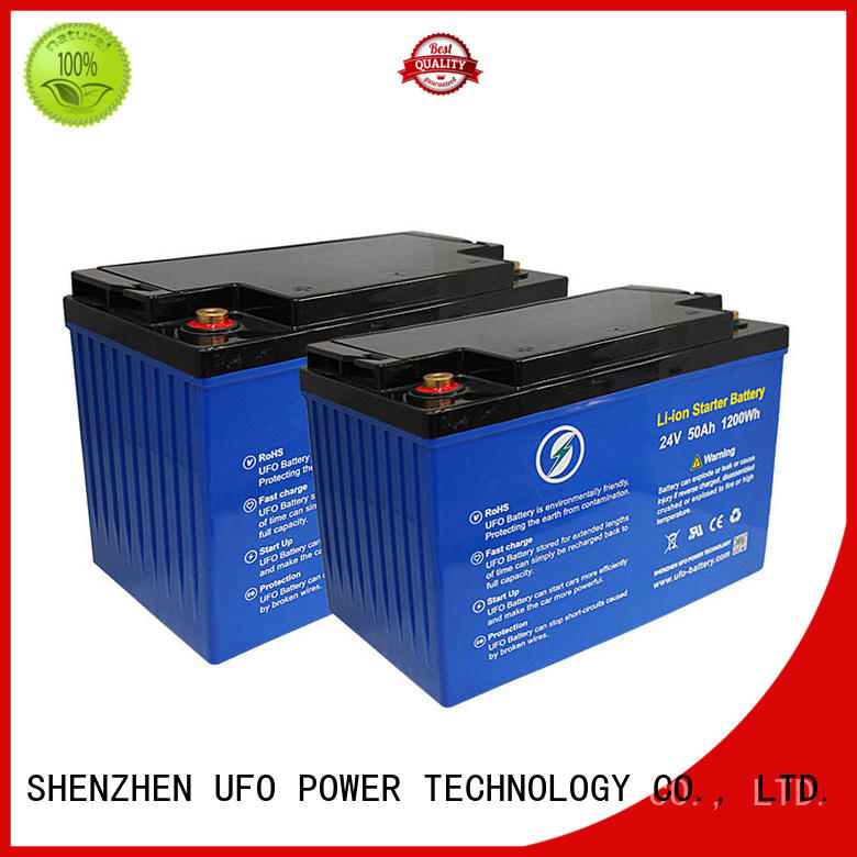 UFO 100ah 24v lifepo4 battery for business for alarm