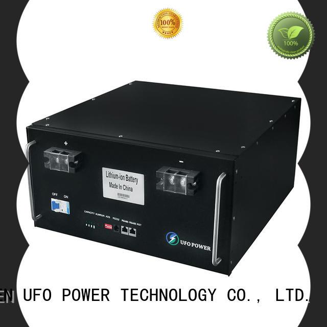 UFO telecommunication battery manufacturer for solar street lamp