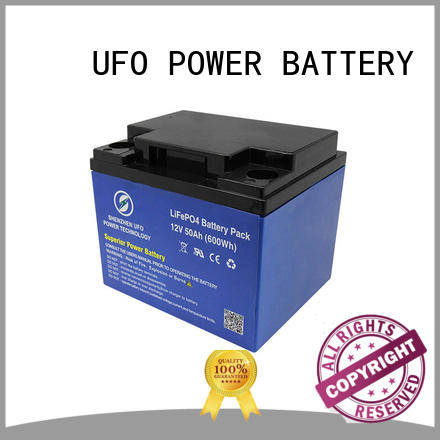 UFO High-quality lifepo4 battery supply for solar system Gel battery replacement