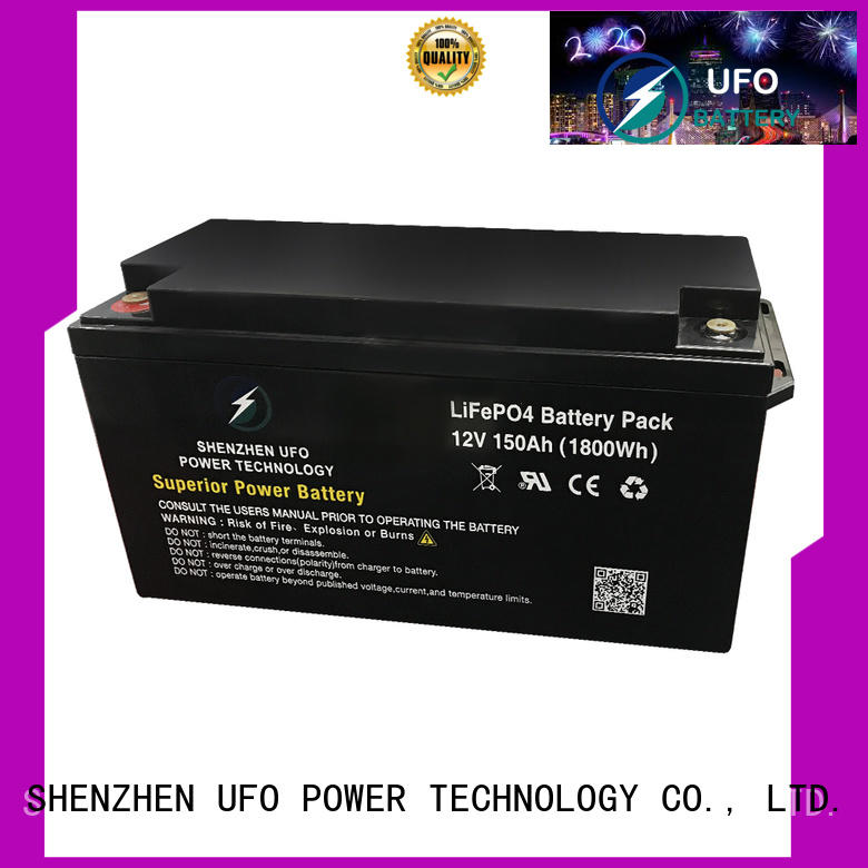 UFO system lifepo4 lithium battery company for solar system Gel battery replacement