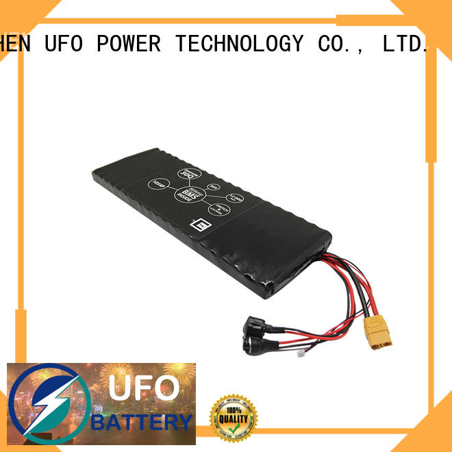 UFO new rechargeable lithium battery pack manufacturer for solar street light