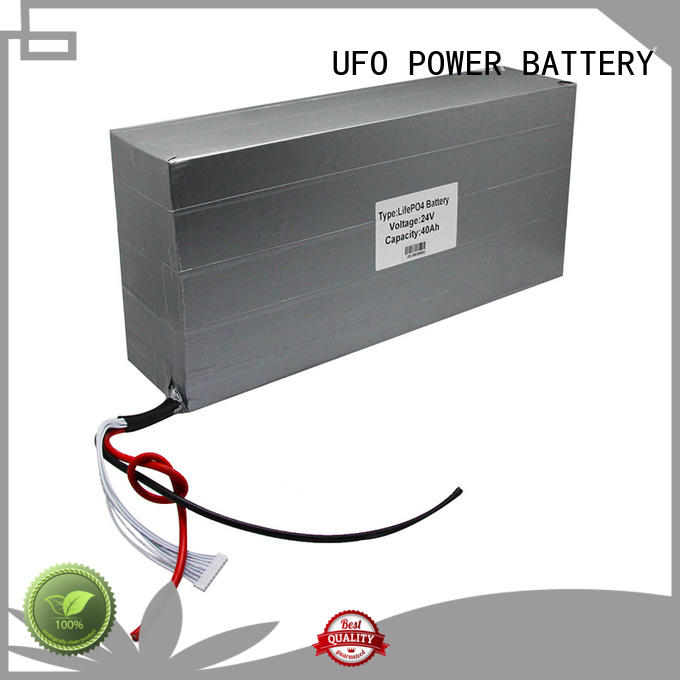 UFO 24v40ah lithium ion rechargeable battery pack company for sale
