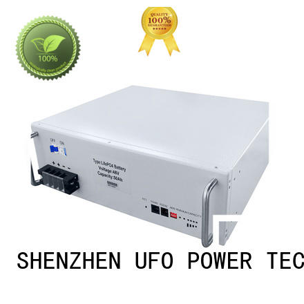 UFO telecom battery with automation control technology for solar street lamp