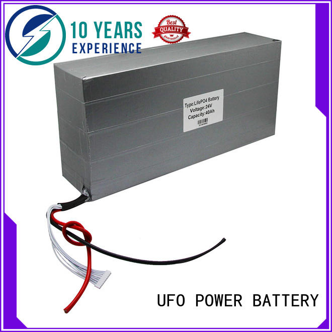 UFO Best rechargeable battery pack company for solar street light