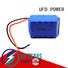UFO ncm rechargeable li ion battery pack with flexible size for solar street light