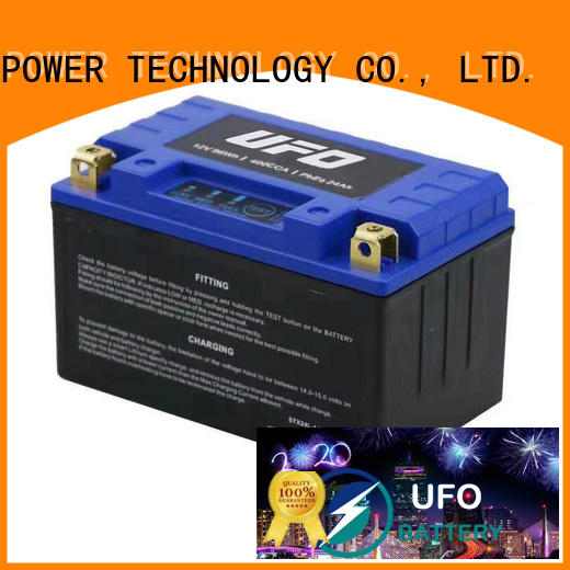 UFO Top lithium starter battery supply for electric cars