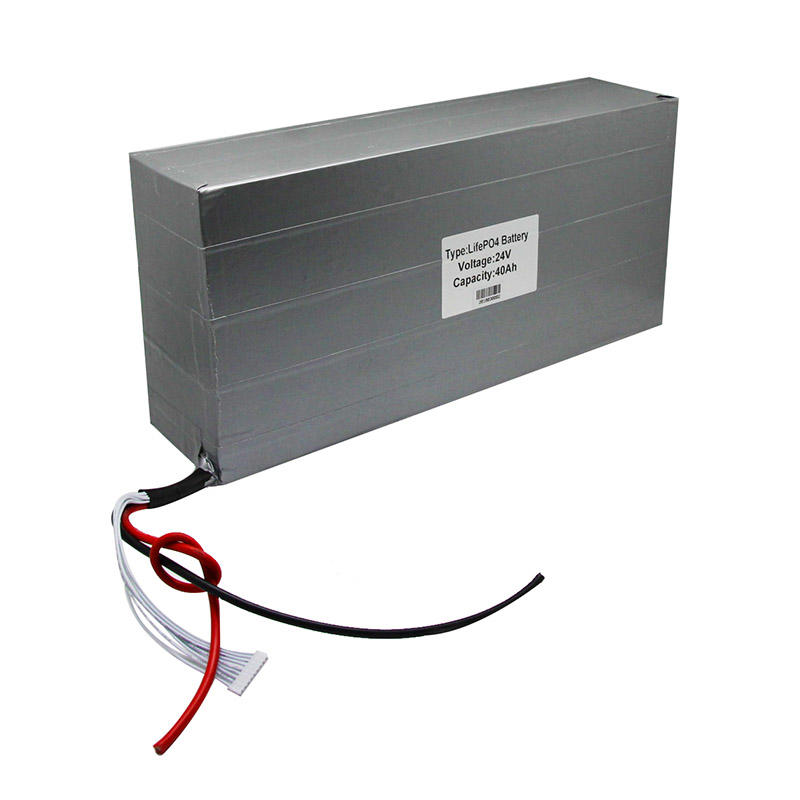 Lithium ion rechargeable battery 24V40Ah for Solar system solar street light-2