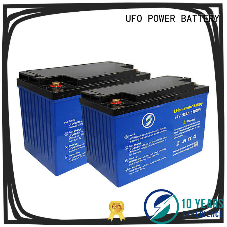 UFO superior quality 24v lithium battery pack for alarm
