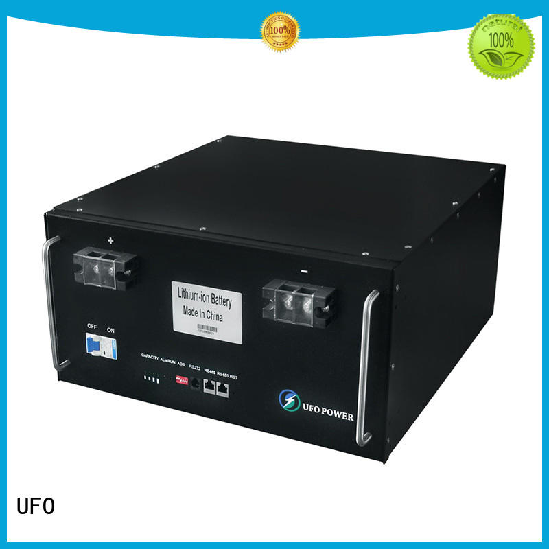 UFO professional lithium ion solar battery with air switch for solar street lamp